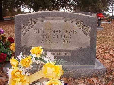 LEWIS, KITTIE MAE - Columbia County, Arkansas | KITTIE MAE LEWIS - Arkansas Gravestone Photos