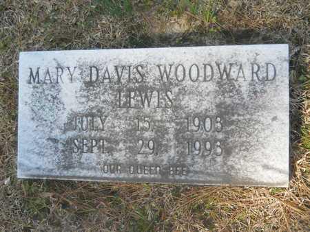 LEWIS, MARY - Columbia County, Arkansas | MARY LEWIS - Arkansas Gravestone Photos