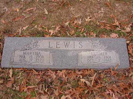 LEWIS, MARTHA - Columbia County, Arkansas | MARTHA LEWIS - Arkansas Gravestone Photos