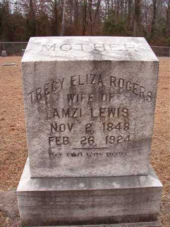 ROGERS LEWIS, TRECY ELIZA - Columbia County, Arkansas | TRECY ELIZA ROGERS LEWIS - Arkansas Gravestone Photos