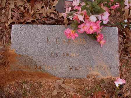 LEWIS (VETERAN), L T - Columbia County, Arkansas | L T LEWIS (VETERAN) - Arkansas Gravestone Photos