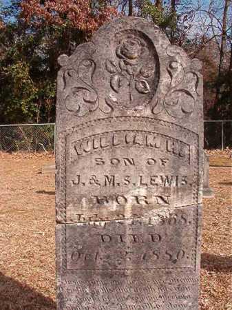 LEWIS, WILLIAM H - Columbia County, Arkansas | WILLIAM H LEWIS - Arkansas Gravestone Photos
