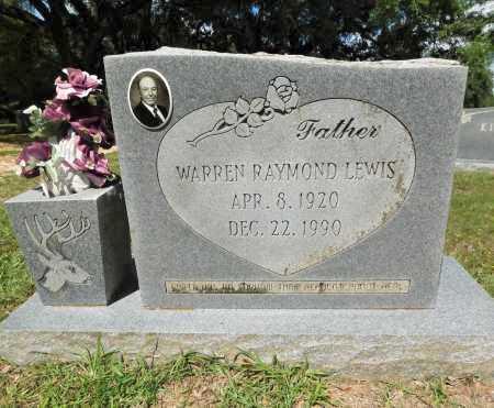 LEWIS, WARREN RAYMOND - Columbia County, Arkansas   WARREN RAYMOND LEWIS - Arkansas Gravestone Photos