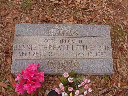 LITLLEJOHN, BESSIE - Columbia County, Arkansas | BESSIE LITLLEJOHN - Arkansas Gravestone Photos
