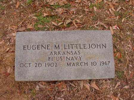 LITTLEJOHN (VETERAN), EUGENE M - Columbia County, Arkansas | EUGENE M LITTLEJOHN (VETERAN) - Arkansas Gravestone Photos