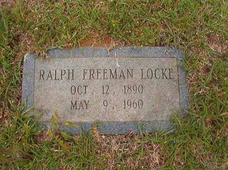 LOCKE, RALPH FREEMAN - Columbia County, Arkansas | RALPH FREEMAN LOCKE - Arkansas Gravestone Photos