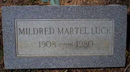 LUCK, MILDRED - Columbia County, Arkansas | MILDRED LUCK - Arkansas Gravestone Photos