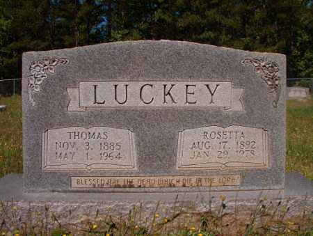 LUCKEY, ROSETTA - Columbia County, Arkansas | ROSETTA LUCKEY - Arkansas Gravestone Photos