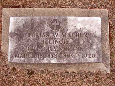 MACHEN (VETERAN UNION), THOMAS W - Columbia County, Arkansas | THOMAS W MACHEN (VETERAN UNION) - Arkansas Gravestone Photos