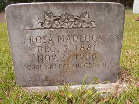 MADLOCK, ROSA - Columbia County, Arkansas | ROSA MADLOCK - Arkansas Gravestone Photos