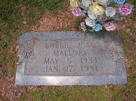 MALLORY, BOBBIE JEAN - Columbia County, Arkansas | BOBBIE JEAN MALLORY - Arkansas Gravestone Photos