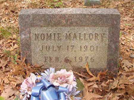 MALLORY, NOMIE - Columbia County, Arkansas | NOMIE MALLORY - Arkansas Gravestone Photos