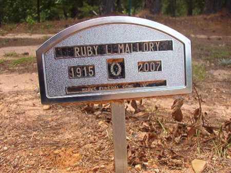 MALLORY, RUBY L - Columbia County, Arkansas | RUBY L MALLORY - Arkansas Gravestone Photos