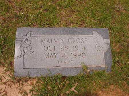 MALVIN, CROSS - Columbia County, Arkansas   CROSS MALVIN - Arkansas Gravestone Photos