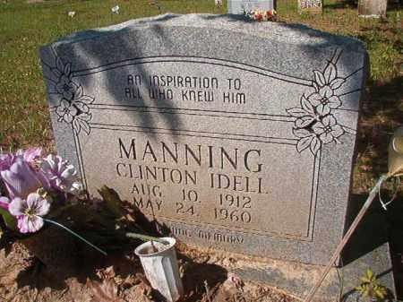 MANNING, CLINTON IDELL - Columbia County, Arkansas | CLINTON IDELL MANNING - Arkansas Gravestone Photos