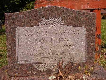 MANNING, OSSIE B - Columbia County, Arkansas | OSSIE B MANNING - Arkansas Gravestone Photos
