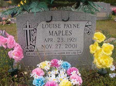 MAPLES, LOUISE - Columbia County, Arkansas | LOUISE MAPLES - Arkansas Gravestone Photos