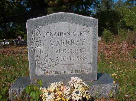 MARKRAY, JONATHAN CURTIS - Columbia County, Arkansas   JONATHAN CURTIS MARKRAY - Arkansas Gravestone Photos