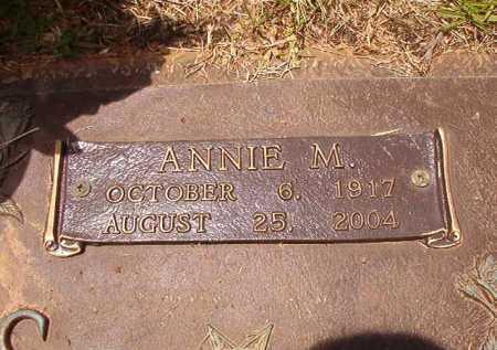 MARKS, ANNIE M - Columbia County, Arkansas | ANNIE M MARKS - Arkansas Gravestone Photos