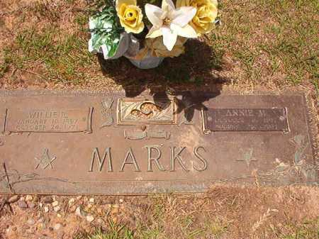 MARKS, WILLIE R - Columbia County, Arkansas | WILLIE R MARKS - Arkansas Gravestone Photos