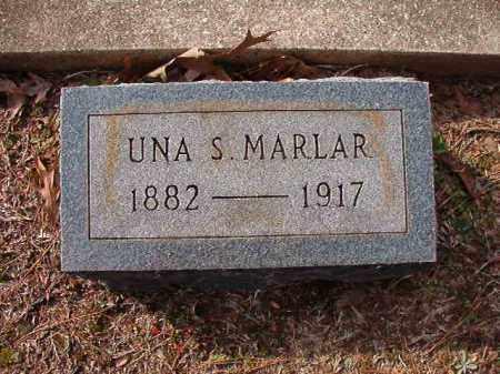 MARLAR, UNA S - Columbia County, Arkansas | UNA S MARLAR - Arkansas Gravestone Photos