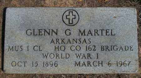 MARTEL  (VETERAN WWI), GLENN G - Columbia County, Arkansas | GLENN G MARTEL  (VETERAN WWI) - Arkansas Gravestone Photos