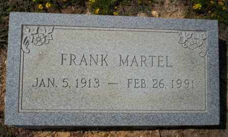 MARTEL, FRANK - Columbia County, Arkansas | FRANK MARTEL - Arkansas Gravestone Photos