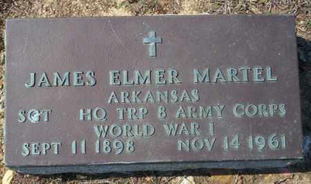 MARTEL (VETERAN WWI), JAMES ELMER - Columbia County, Arkansas | JAMES ELMER MARTEL (VETERAN WWI) - Arkansas Gravestone Photos