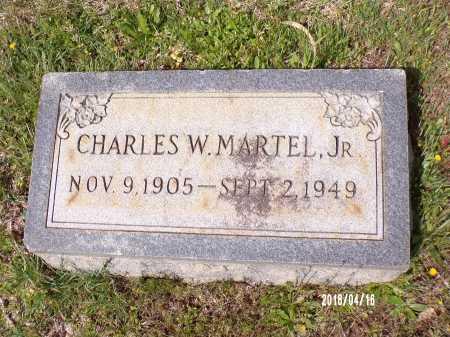 MARTEL JR., CHARLES W - Columbia County, Arkansas | CHARLES W MARTEL JR. - Arkansas Gravestone Photos