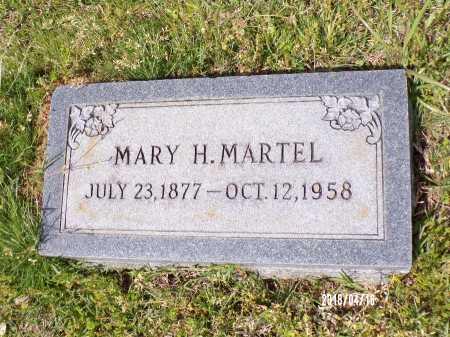 MARTEL, MARY H - Columbia County, Arkansas | MARY H MARTEL - Arkansas Gravestone Photos