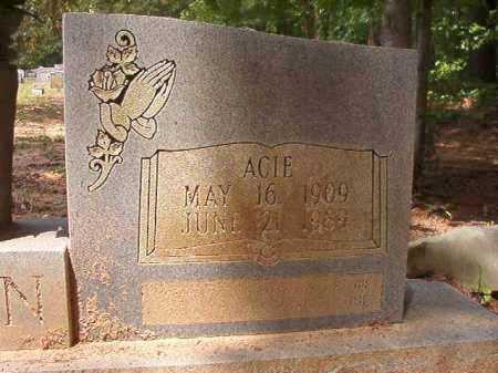 MARTIN, ACIE - Columbia County, Arkansas | ACIE MARTIN - Arkansas Gravestone Photos