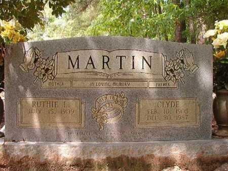 MARTIN, CLYDE - Columbia County, Arkansas | CLYDE MARTIN - Arkansas Gravestone Photos