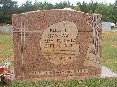 MASHAW, KELLY E - Columbia County, Arkansas | KELLY E MASHAW - Arkansas Gravestone Photos