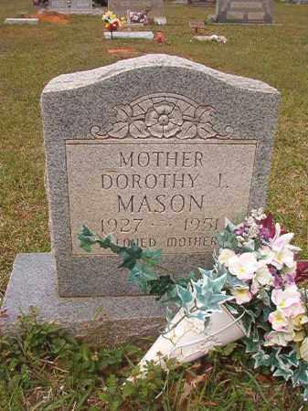 MASON, DOROTHY L - Columbia County, Arkansas   DOROTHY L MASON - Arkansas Gravestone Photos