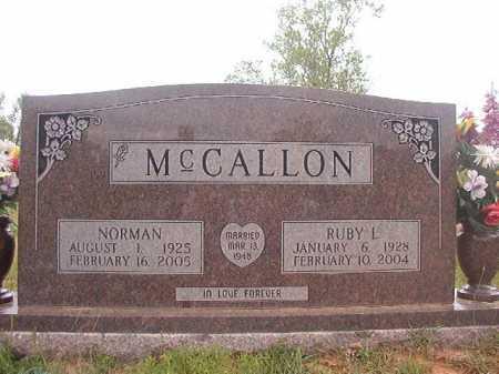 MCCALLON, RUBY L - Columbia County, Arkansas   RUBY L MCCALLON - Arkansas Gravestone Photos