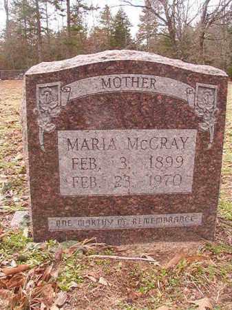 MCCRAY, MARIA - Columbia County, Arkansas | MARIA MCCRAY - Arkansas Gravestone Photos