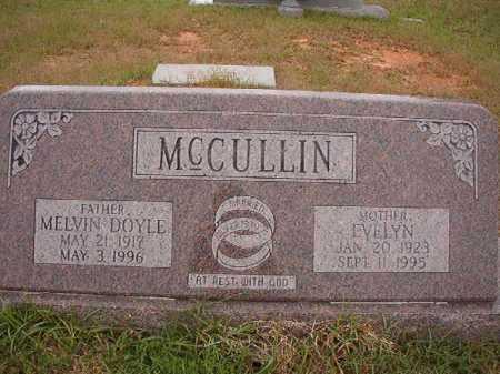 MCCULLIN, MELVIN DOYLE - Columbia County, Arkansas   MELVIN DOYLE MCCULLIN - Arkansas Gravestone Photos