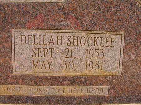 SHOCKLEE MCDONALD, DELILAH - Columbia County, Arkansas | DELILAH SHOCKLEE MCDONALD - Arkansas Gravestone Photos