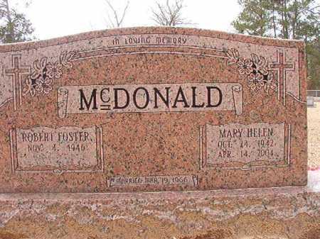 MCDONALD, MARY HELEN - Columbia County, Arkansas | MARY HELEN MCDONALD - Arkansas Gravestone Photos