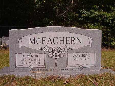 MCEACHERN, AUBY GENE - Columbia County, Arkansas | AUBY GENE MCEACHERN - Arkansas Gravestone Photos