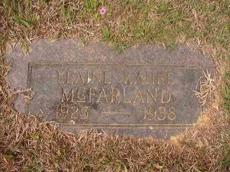 MCFARLAND, ELAINE KAHRE - Columbia County, Arkansas | ELAINE KAHRE MCFARLAND - Arkansas Gravestone Photos