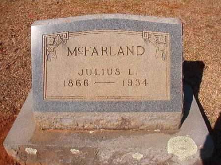 MCFARLAND, JULIUS L - Columbia County, Arkansas | JULIUS L MCFARLAND - Arkansas Gravestone Photos