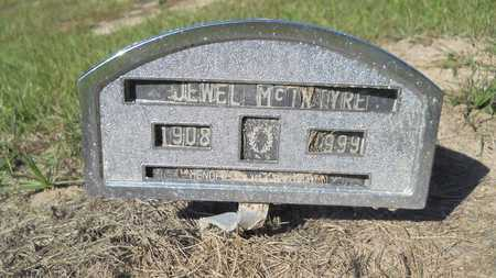 MCINTYRE, JEWEL - Columbia County, Arkansas | JEWEL MCINTYRE - Arkansas Gravestone Photos