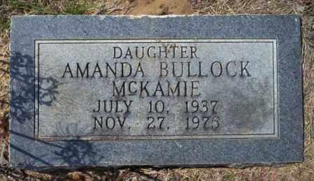 MCKAMIE, AMANDA - Columbia County, Arkansas | AMANDA MCKAMIE - Arkansas Gravestone Photos