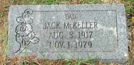 MCKELLER, JACK - Columbia County, Arkansas | JACK MCKELLER - Arkansas Gravestone Photos
