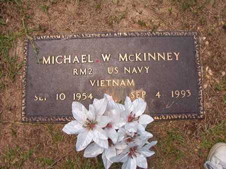MCKINNEY (VETERAN VIET), MICHAEL W - Columbia County, Arkansas | MICHAEL W MCKINNEY (VETERAN VIET) - Arkansas Gravestone Photos