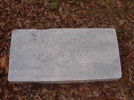 MCKISSACK, WILLIAM S - Columbia County, Arkansas   WILLIAM S MCKISSACK - Arkansas Gravestone Photos