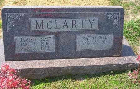 MCLARTY, JAMES F - Columbia County, Arkansas | JAMES F MCLARTY - Arkansas Gravestone Photos