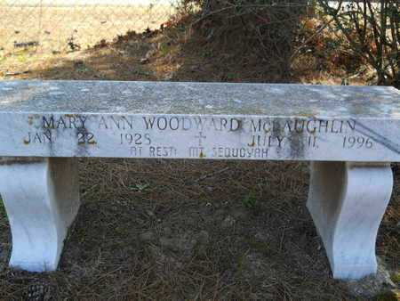 MCLAUGHLIN, MARY ANN - Columbia County, Arkansas | MARY ANN MCLAUGHLIN - Arkansas Gravestone Photos