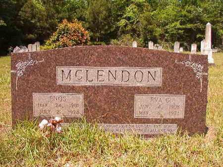 MCLENDON, EVA G - Columbia County, Arkansas | EVA G MCLENDON - Arkansas Gravestone Photos